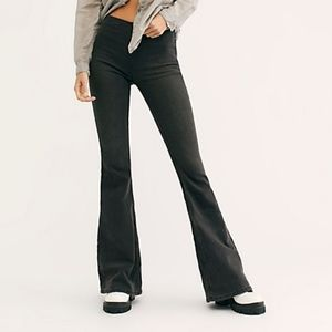 Free People Black Penny Pull On Flare size 31